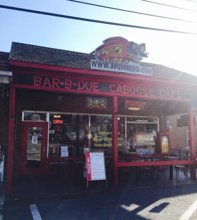 BBQ Caboose Cafe